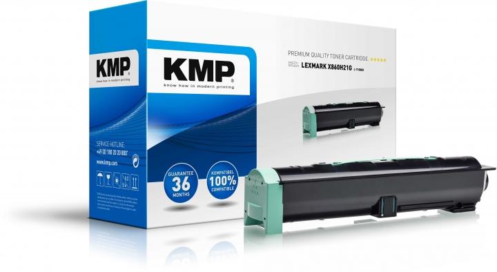 KMP L-T108BX Toner Schwarz ersetzt Lexmark X860H21G