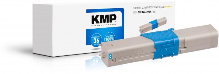 KMP O-T49CX Toner Cyan - ersetzt OKI 44469724