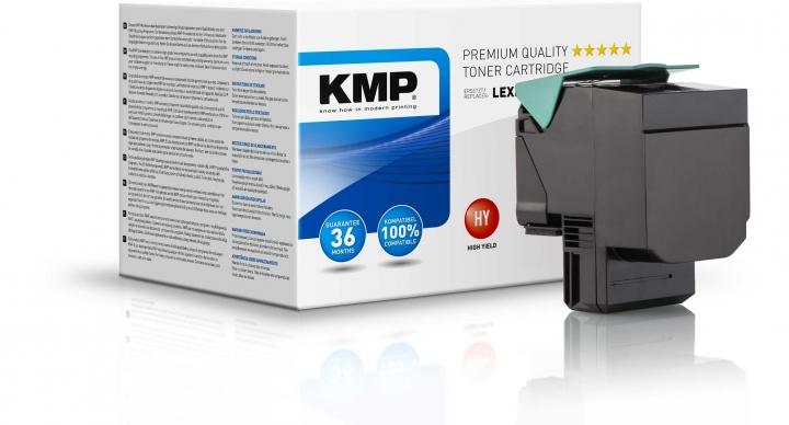 KMP L-T38 Toner ersetzt Lexmark (C540H2KG)
