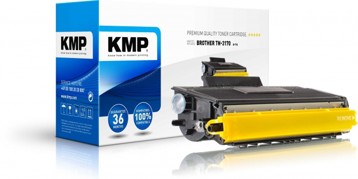 KMP B-T15 Toner für Brother TN3170 / DCP-8060/HL-5240/5270/5280/MFC-8460/8860 black