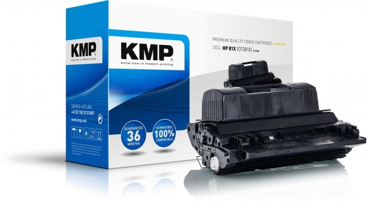 KMP H-T228 Toner Schwarz ersetzt HP 81X (CF281X)