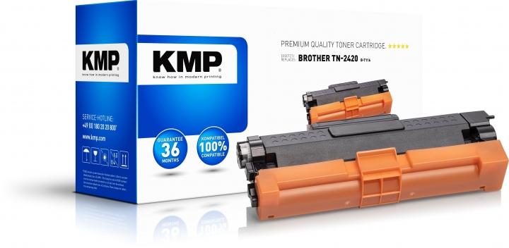 KMP Toner B-T116 ersetzt Brother TN2420