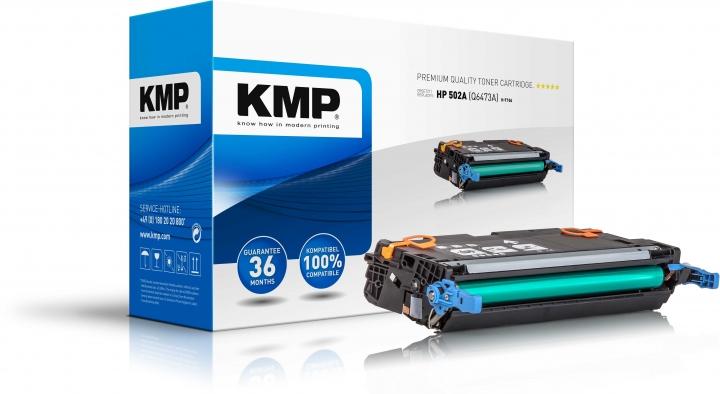 KMP H-T104 Toner magenta ersetzt HP 502A (Q6473A)