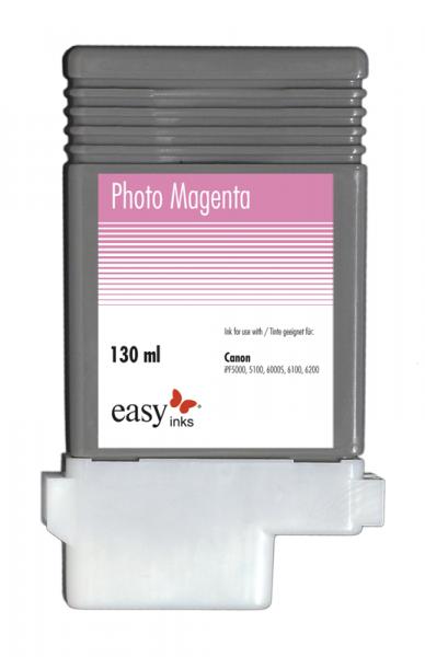 Easy Ink Tintentank Photo Magenta für Canon iPF5100, iPF6100, iPF6200 mit kompatibler PFI-103 Tinte,