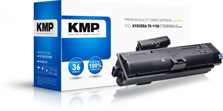 KMP K-T78 Toner Schwarz ersetzt KYOCERA KYOCERA TK1150 (1T02RV0NL0)