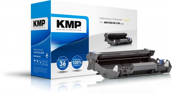 KMP Trommel für Brother ersetzt DR-3100 / für DCP-8060/HL-5240/5280/MFC-8460/8860 Schwarz