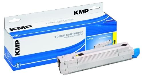 KMP O-T30 ersetzt Toner Oki 44469704 yellow für C310dn/C330dn/C510dn/C530dn