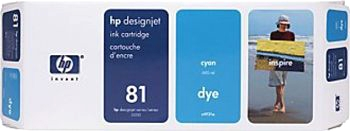 HP 81 Tinte cyan 680ml für DesignJet 5000/PS