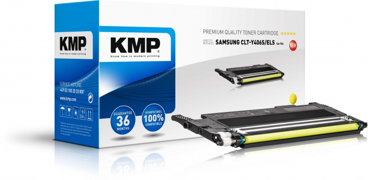 KMP SA-T56 Toner gelb ersetzt CLT-Y406