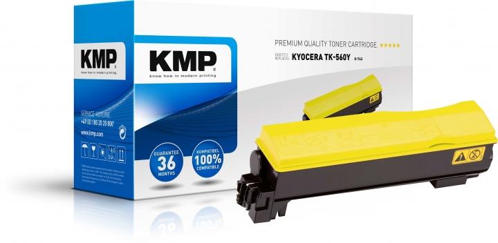 KMP K-T43 Toner ersetzt Kyocera TK560Y