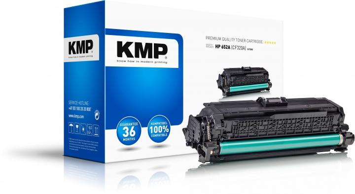 KMP H-T202 Toner Schwarz ersetzt HP 652A (CF320A)