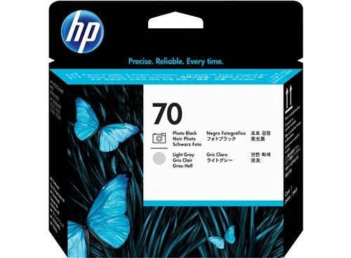 HP Nr. 70 (C9407A) Schwarz + Grau