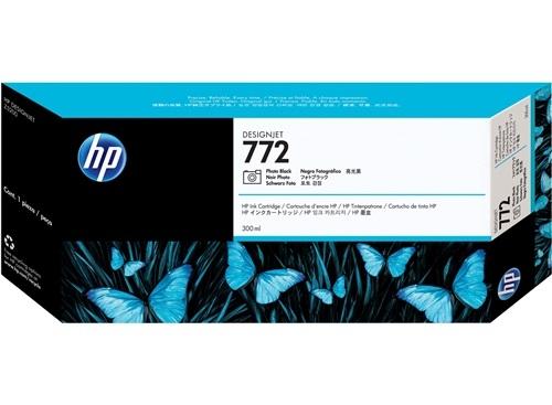 HP 772 Fotoschwarz DesignJet Tintenpatrone, 300 ml