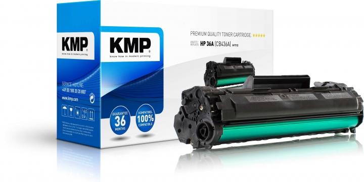 KMP H-T112 Toner ersetzt HP 36A