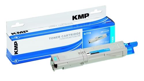 KMP O-T19 Toner ersetzt OKI 43459331
