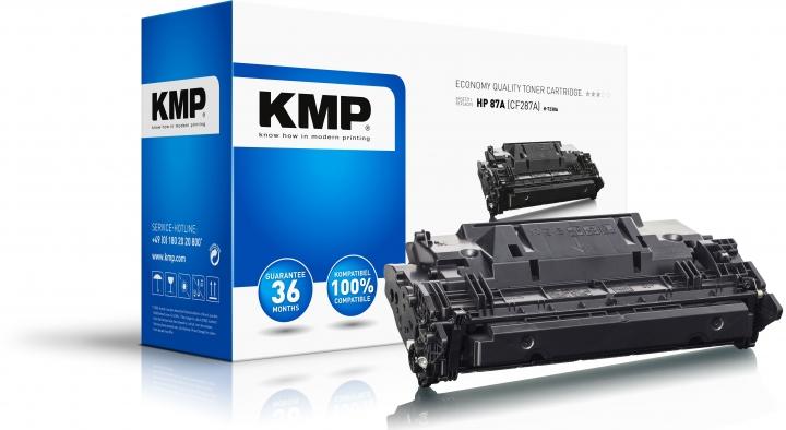 KMP Toner H-T238A Schwarz ersetzt HP 87A (CF287A)