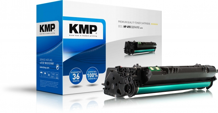KMP H-T71 Toner ersetzt HP 49X (Q5949X)