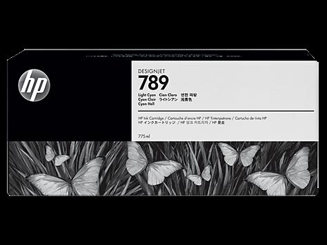 HP 789 cyan hell Latex Designjet Tintenpatrone (775 ml) CH619A - MHD 12/2017