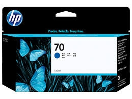 HP 70 Tin­ten­pa­tro­ne Original Cyan C9458A