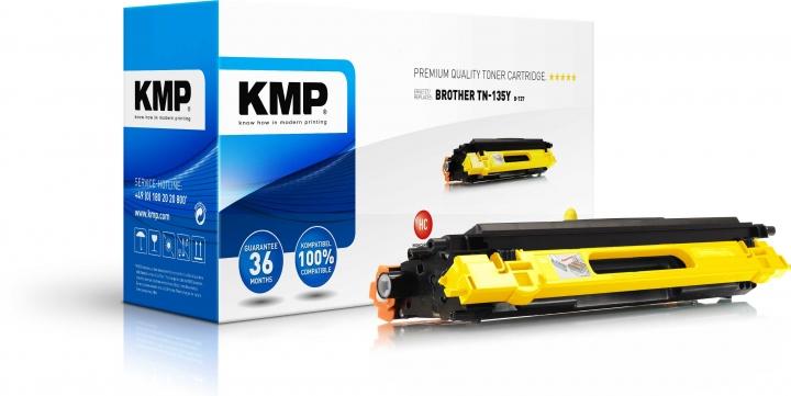 KMP B-T27 Toner für Brother TN-135 yellow / HL-4040/4070/MFC-9440/9840/DCP-9040 magenta