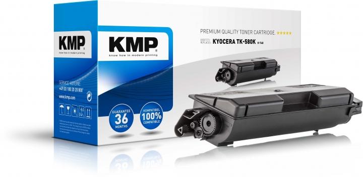 KMP K-T48 Toner Schwarz ersetzt KYOCERA TK580K (1T02KT0NL0)