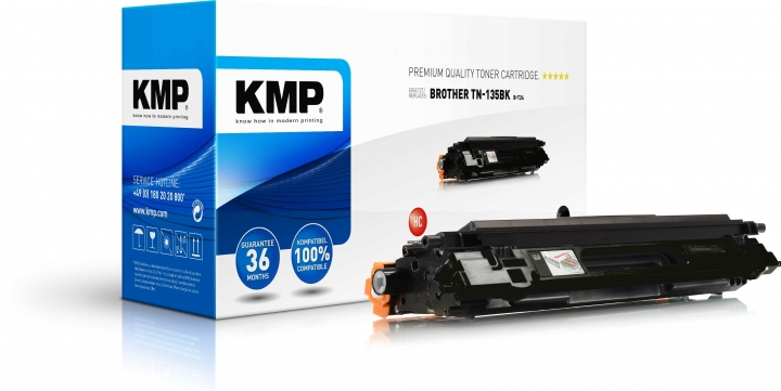 KMP B-T24 Toner für Brother TN-135 schwarz / DCP-904* / HL-40**/MFC-94** / MFC 9840C