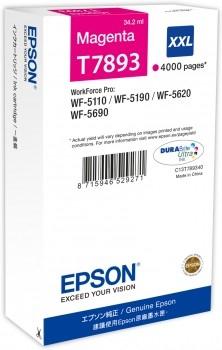 Epson C13T789340 / T7893 magenta XXL Tintenpatrone Original