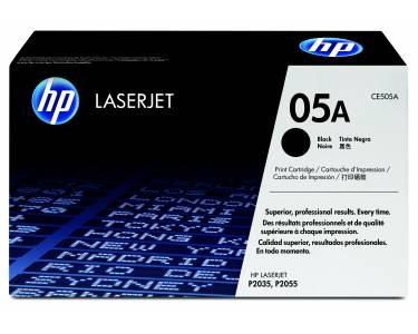 HP 05XD LaserJet Doppelpack 2 x Toner CE505XD schwarz