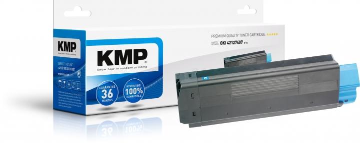 KMP O-T2 Toner ersetzt OKI 42804507
