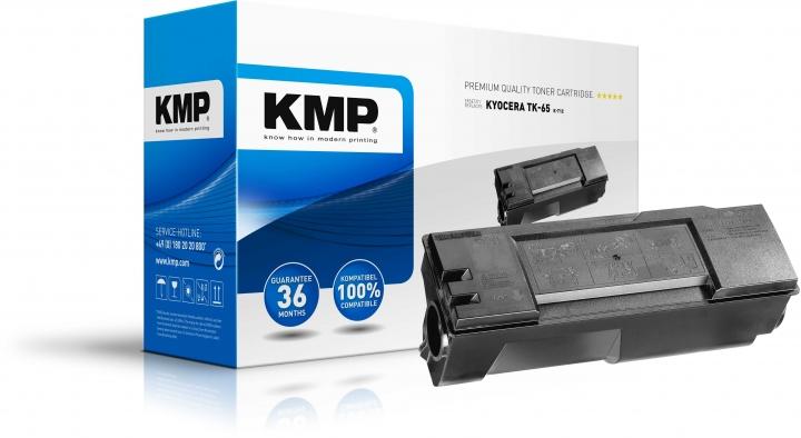 KMP K-T12 Toner ersetzt Kyocera TK65