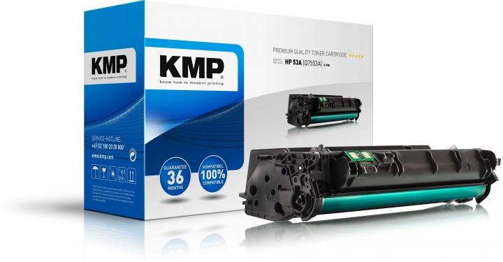 KMP H-T88 Toner ersetzt HP 53X (Q7553X)