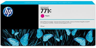 HP Nr. 771c Tinte magenta (B6Y09A) 775ml
