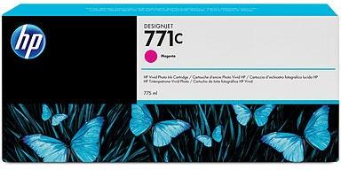 HP Nr. 771c Tinte magenta (B6Y09A) 775ml - ohne Umverpackung