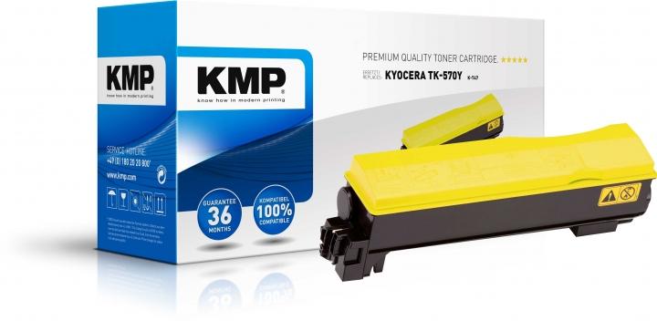 KMP K-T47 Toner ersetzt Kyocera TK570Y