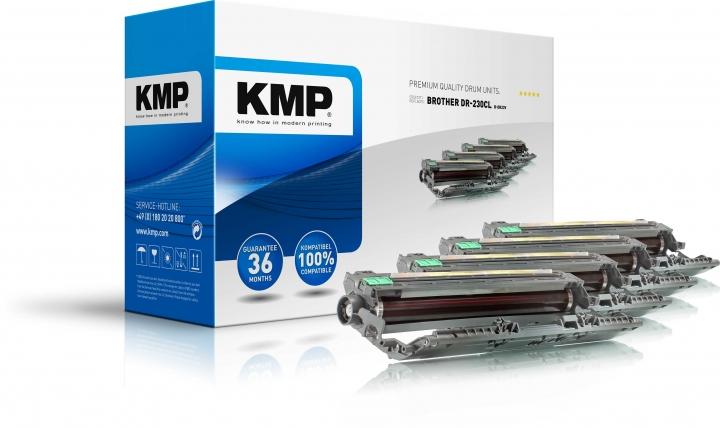 KMP B-DR23V Trommel ersetzt Brother DR230CL