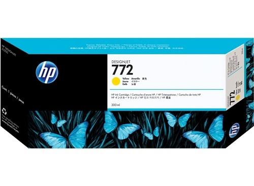 HP 772 Gelb DesignJet Tintenpatrone, 300 ml