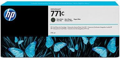 HP Nr. 771c Tinte schwarz matt (B6Y07A) 775ml