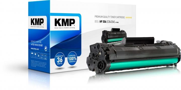 KMP H-T100 Toner ersetzt HP 35A (CB435A)