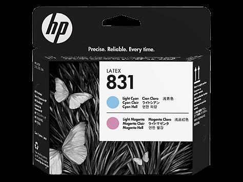HP 831 Magenta hell / Cyan hell Latex-Druckkopf (CZ679A)