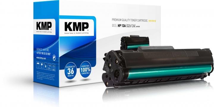 KMP H-T117 Toner ersetzt HP 12A (Q2612A)