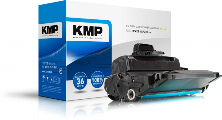 KMP H-T75 Toner ersetzt HP 42X (Q5942X)