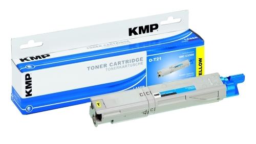 KMP O-T21 Toner ersetzt OKI 43459329