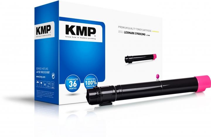 KMP L-T109M Toner Magenta ersetzt Lexmark C950 (C950X2MG)