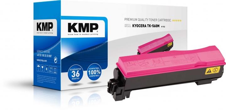 KMP K-T42 Toner ersetzt Kyocera TK560M