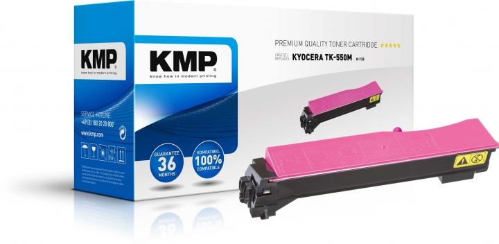 KMP K-T33 Toner ersetzt Kyocera TK550M