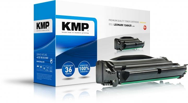 KMP L-T61 Tonerersetzt Lexmark (12A8425)