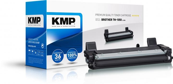 KMP B-T55 Schwarz ersetzt BROTHER TN1050