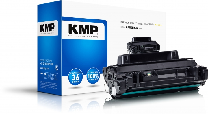 KMP C-T37A Toner Schwarz für Canon 039 (0287C001)
